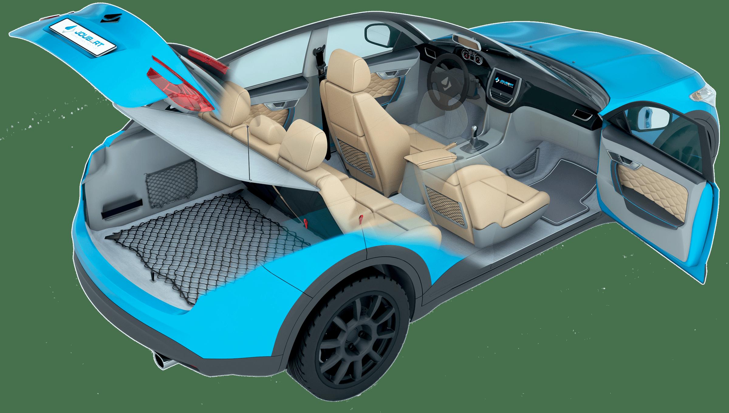 Solutions pour l'intérieur des véhicules