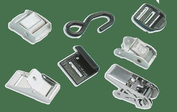 Accessoires pour sangles 18, 25 et 50mm