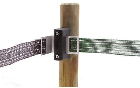 Isolateur à plaque d'angle