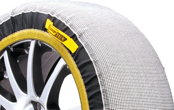 Grip Tex snow chain close-up
