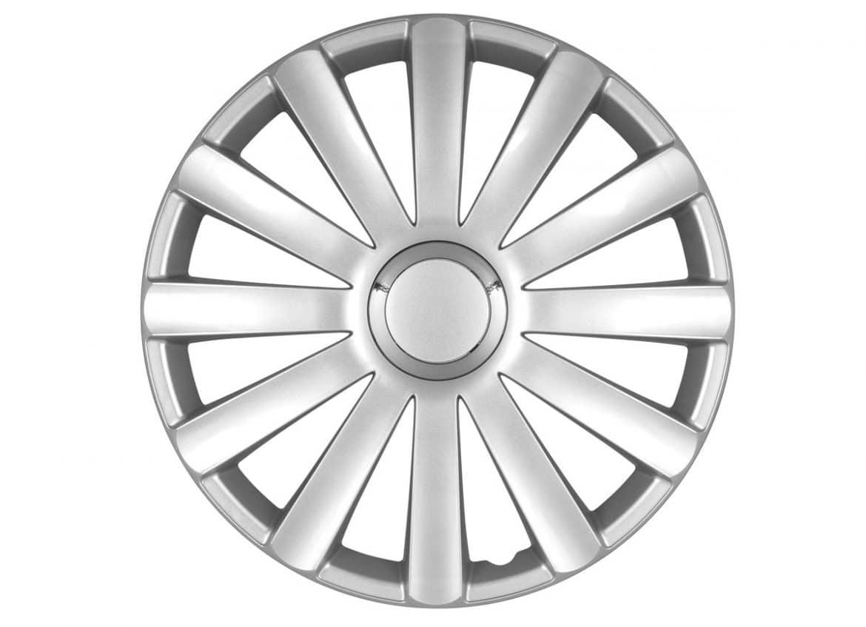 Spyder Pro Silver hubcap