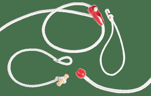 Marine elastic cords