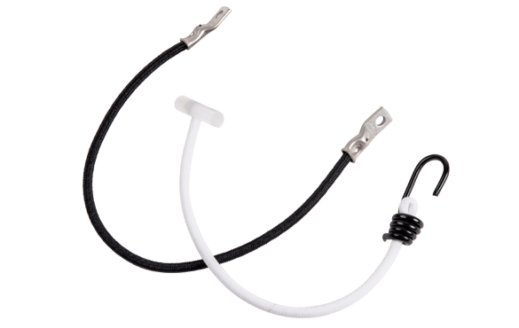Advertising tensioner bungee cords