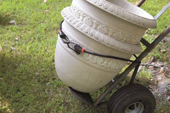 Smart-Bungee - Utilisation jardinage