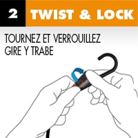 Twist Lock Smart Bungee