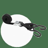 Sangle moto 25mm avec 2 crochets S - pack de 2