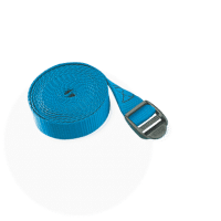 Macro sangle bleue 25mm boucle plastique