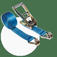 Macro sangle poids lourd bleue