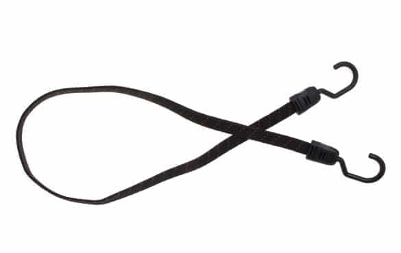 Flat bungee cord with 1 piece