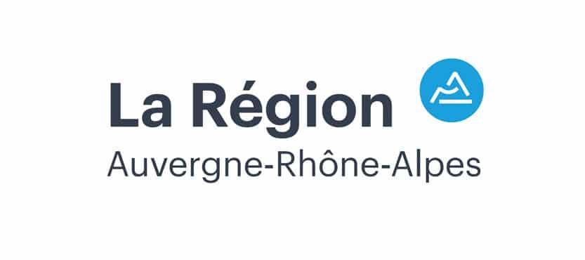 Logo La Région Auvergne Rhône Alpes