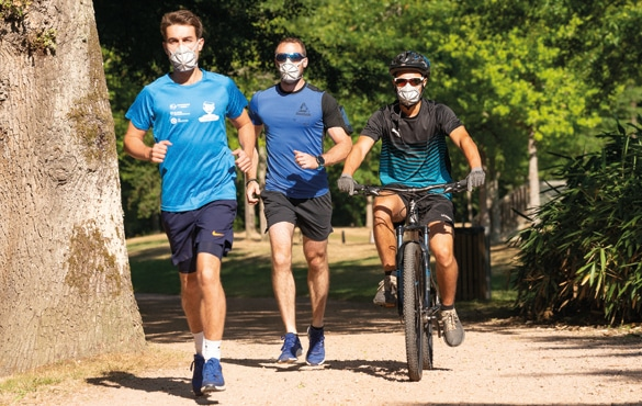Utilisation course a pieds, vélo