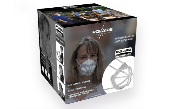 Packaging Polaire HV PROTECT Mask